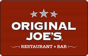 >Original Joe's